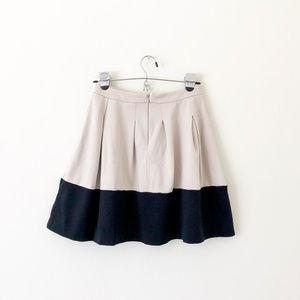 Express Skirts - Express Gray and Black Circle Skirt with Pockets